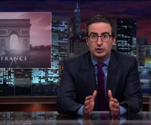 """John Oliver : """"Ces attentats ont été perpétrés par d'énormes foutus trous du cul !"""""""