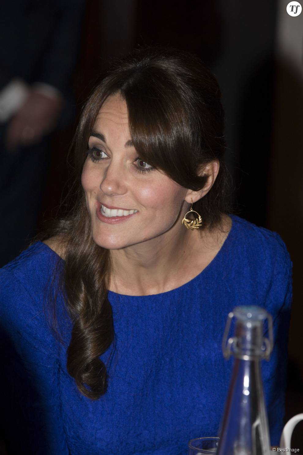 "Catherine Kate Middleton, la duchesse de Cambridge - Catherine Kate Middleton, la duchesse de Cambridge lors de la remise des ""Fostering Awards"" à la BMA House à Tavistock Square à Londres, le 17 novembre 2015."