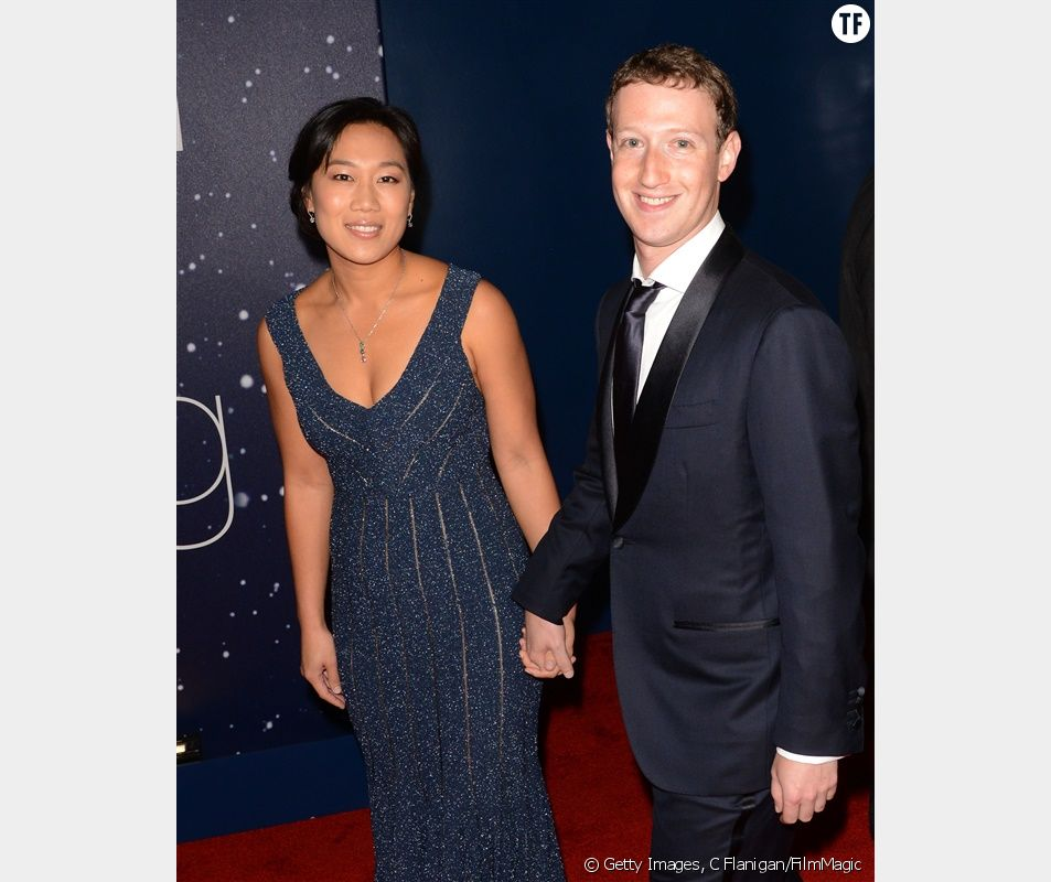 Mark Zuckerberg et son épouse
