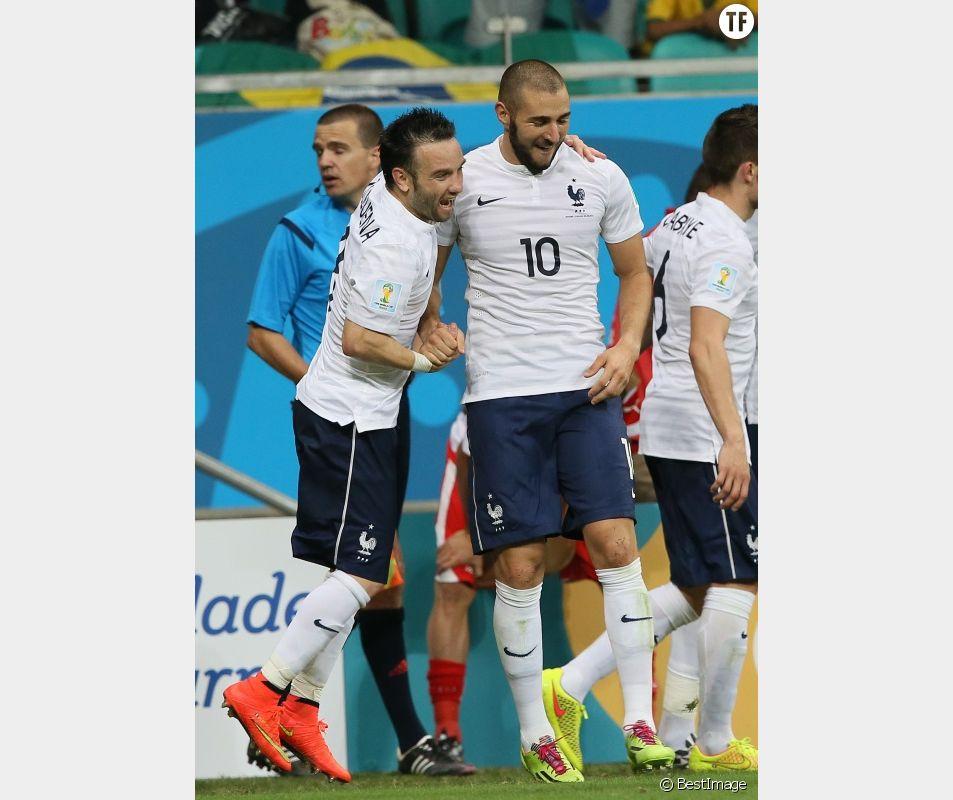 Mathieu Valbuena et Karim Benzema au temps du bonheur