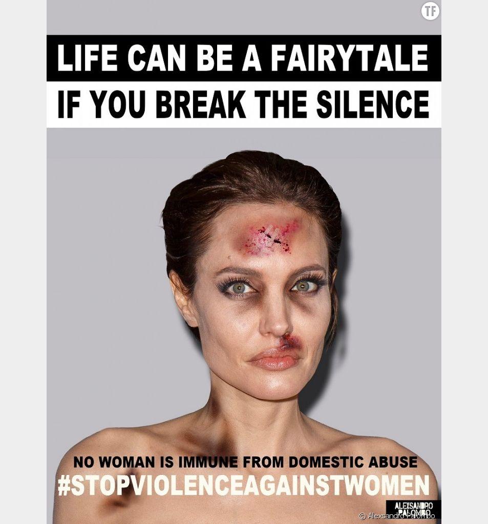 La campagne choc d'Alexsandro Palombo contre les violences faites aux femmes