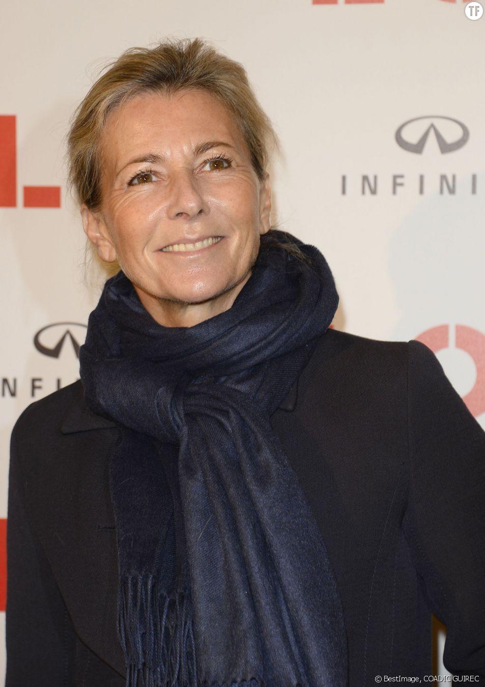 La journaliste Claire Chazal