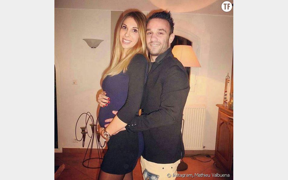 Un bébé pour Mathieu Valbuena et Fanny