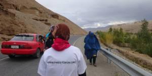Zainab, la première Afghane à courir le marathon dans son pays