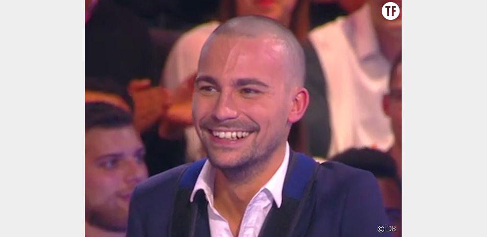 Bertrand Chameroy totalement chauve