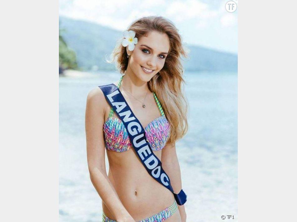 Lena Stachurski (Miss Languedoc)  en bikini
