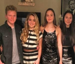 Les quatres enfants de Gordon Ramsay : Jack, Matilda, Holly et Megan.
