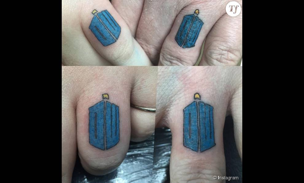 Tatouage Alliance Motif Doctor Who