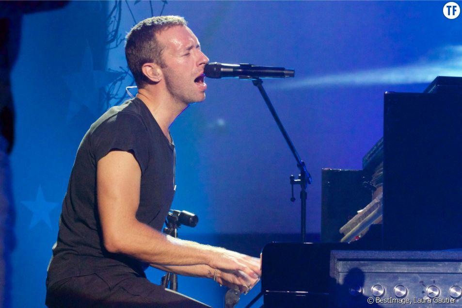 Chris Martin, leader du groupe Coldplay