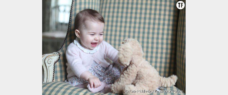 La Princesse Charlotte photographiée par sa maman Kate Middleton