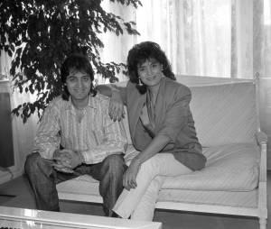 Linda de Suza et son fils Joao en 2 mars 1989