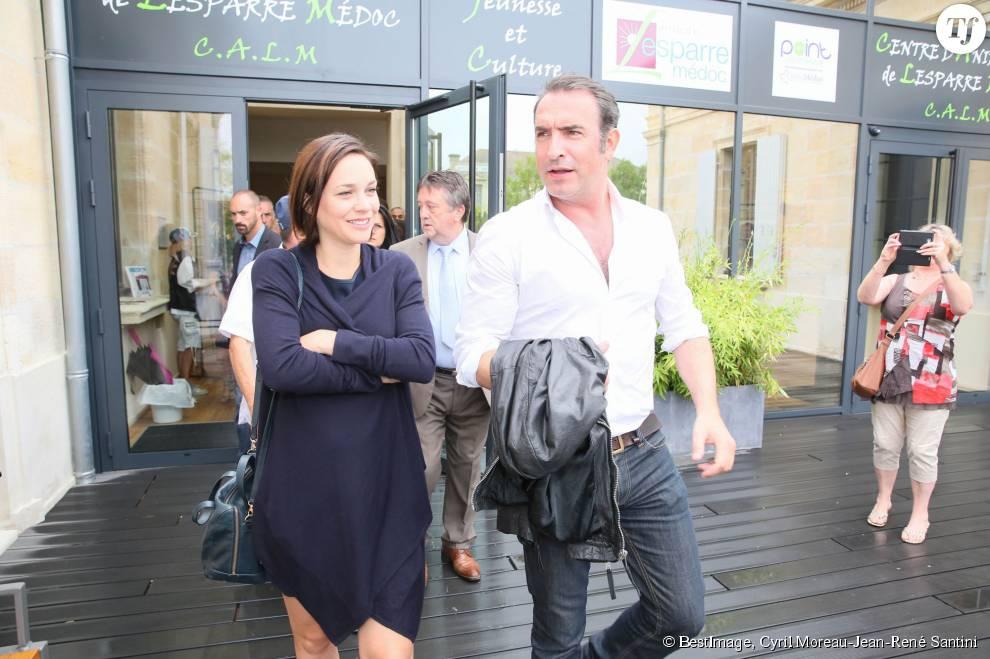 Jean dujardin et sa compagne nathalie p chalat terrafemina for Jean dujardin pechalat
