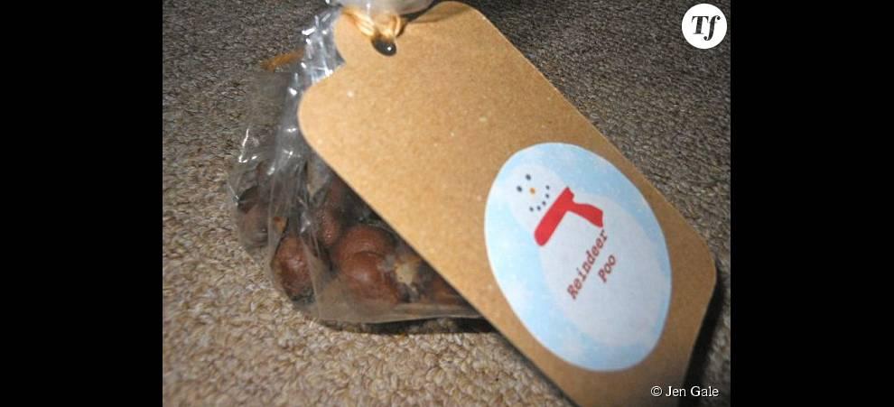 """Les """"crottes de renne"""" au caramel fabriquées par Jen pour Noël"""