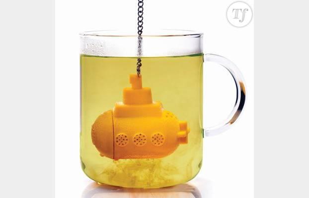 La boule à thé Yellow Submarine
