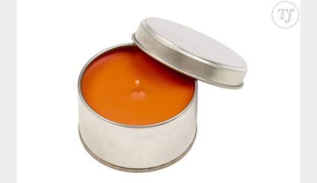 Bougie cannelle et mandarine