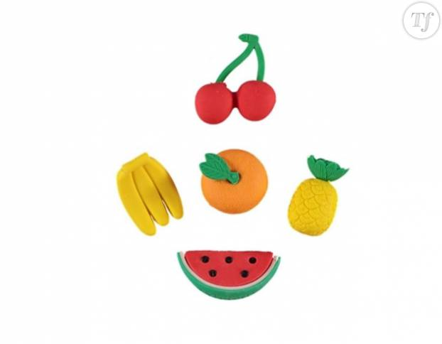 Gommes fruits