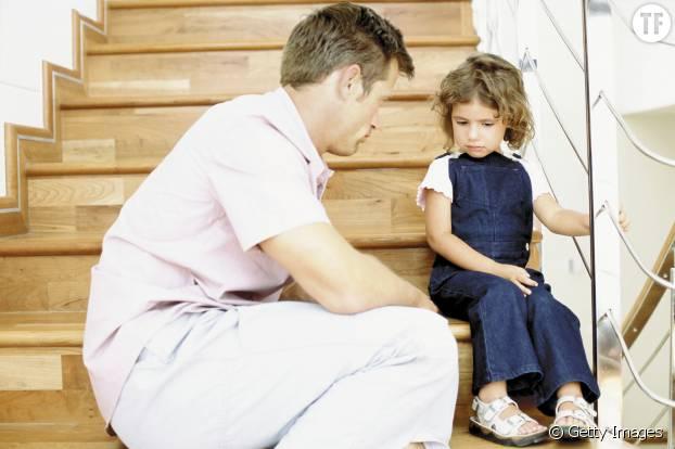 Savoir dire à son enfant qu'un un sujet ne le regarde pas est essentiel