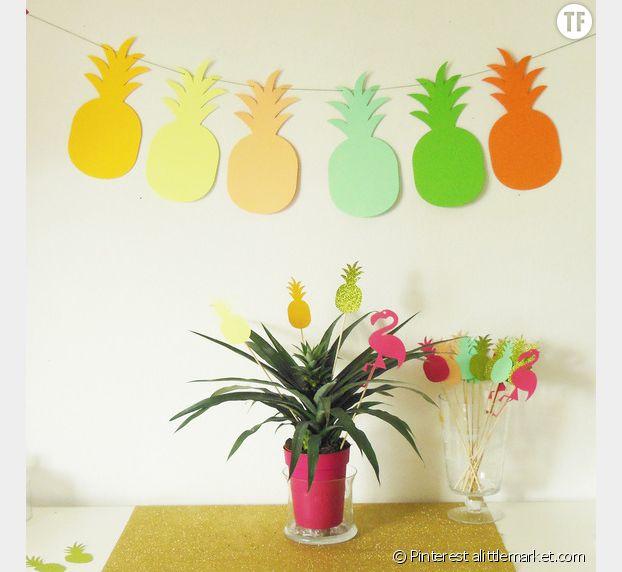 Guirlandes ananas