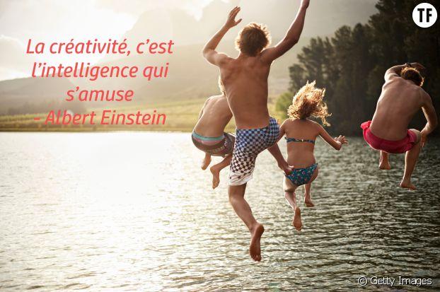 """""""La créativité, c'est l'intelligence qui s'amuse"""", Albert Einstein"""