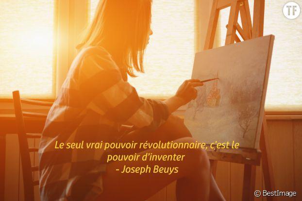 """""""Le seul vrai pouvoir révolutionnaire, c'est le pouvoir d'inventer"""", Joseph Beuys"""