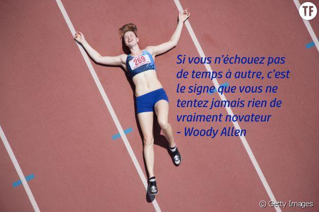 """""""Si vous n'échouez pas de temps à autre, c'est le signe que vous ne tentez jamais rien de vraiment novateur"""", Woody Allen"""