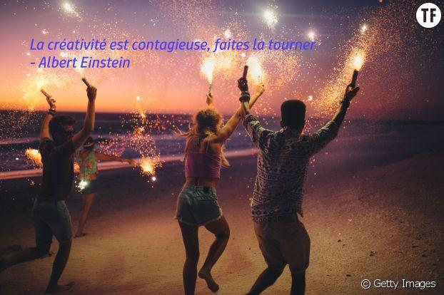 """""""La créativité est contagieuse, faites la tourner"""", Albert Einstein"""