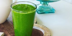 Glowing green smoothie : le jus vert dont raffolent les stars