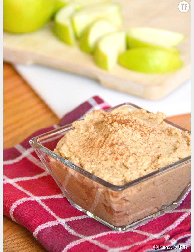 Houmous façon tarte aux pommes