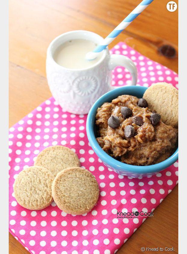 Le houmous façon cookies
