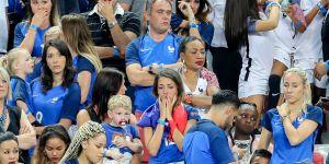 Finale Euro 2016 : les femmes des joueurs de l'équipe de France en larmes dans les tribunes (photos)