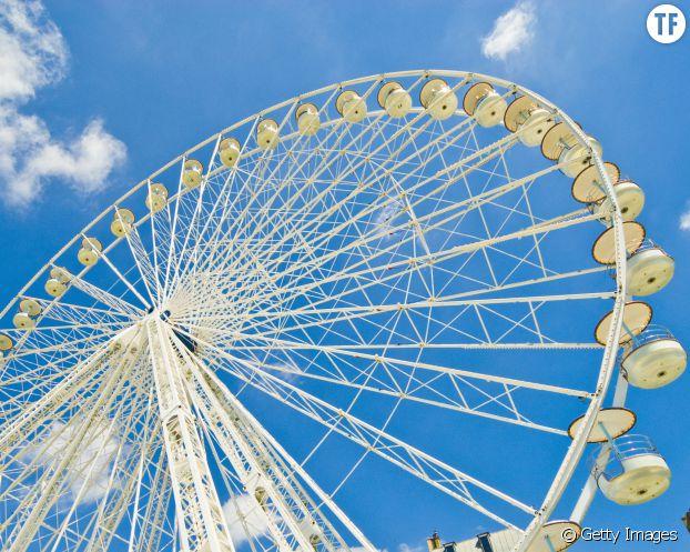 La grande roue du Jardin des Tuileries