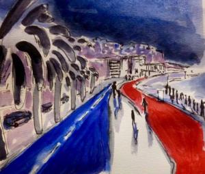 Attentat de Nice : les dessins d'hommage envahissent la Toile (photos)