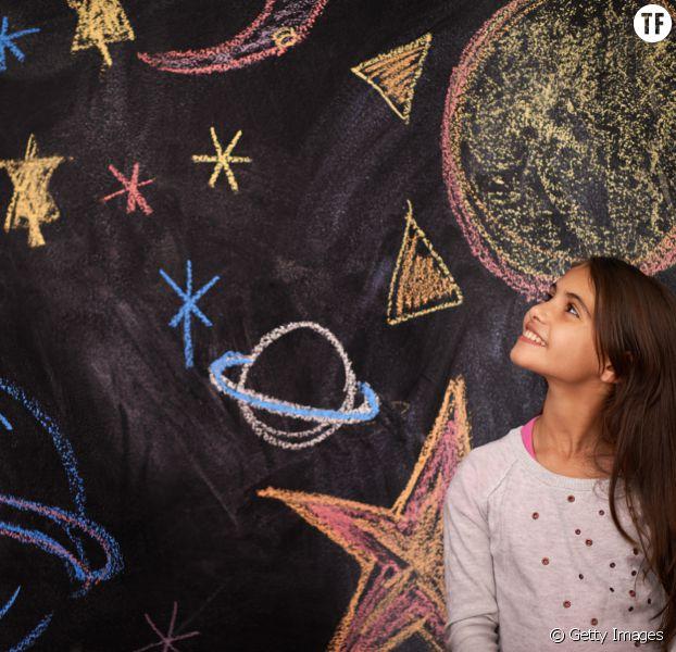 Cette petite fille candidate pour devenir astronaute