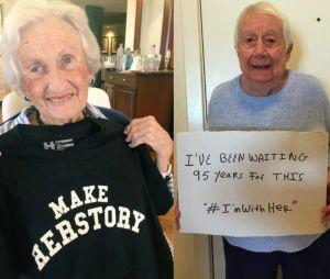 Ces grands-mères ont attendu toute leur vie la nomination d'une femme à la présidentielle