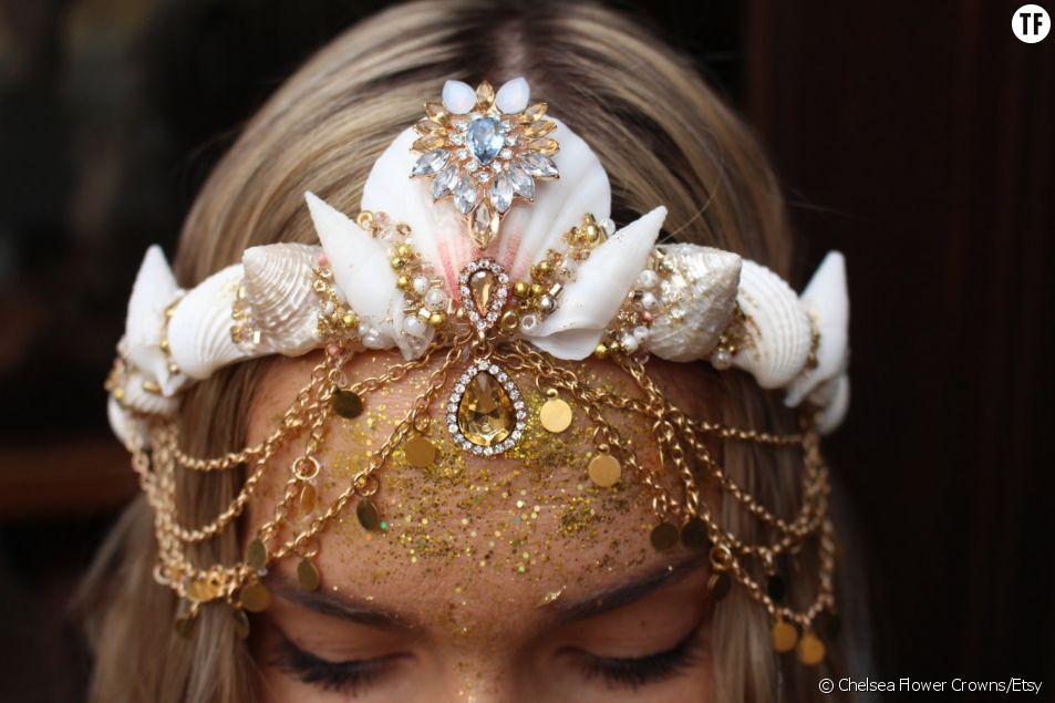 Tendance : la couronne de sirène