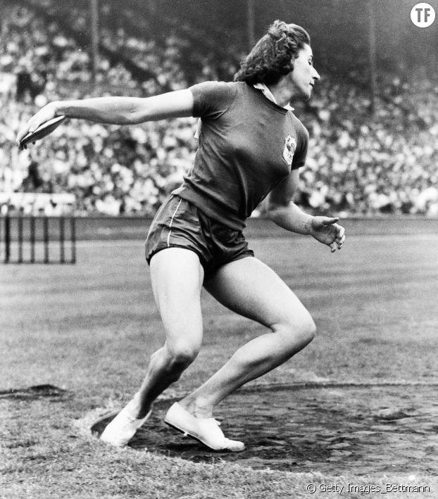 L'athlète Micheline Ostermeyer