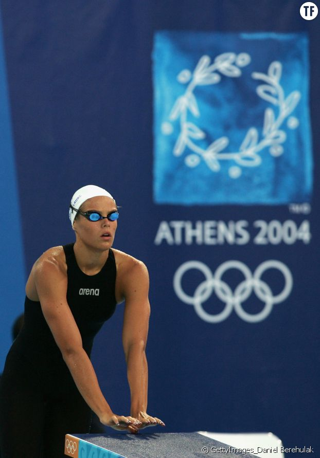 La nageuse Laure Manaudou