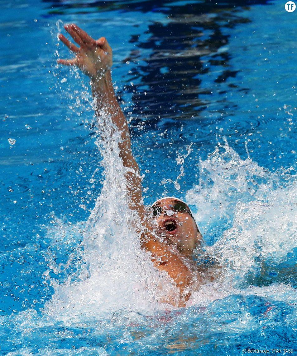 Le nageur Camille Lacourt