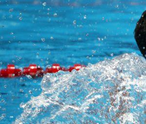 Le nageur français Florent Manaudou