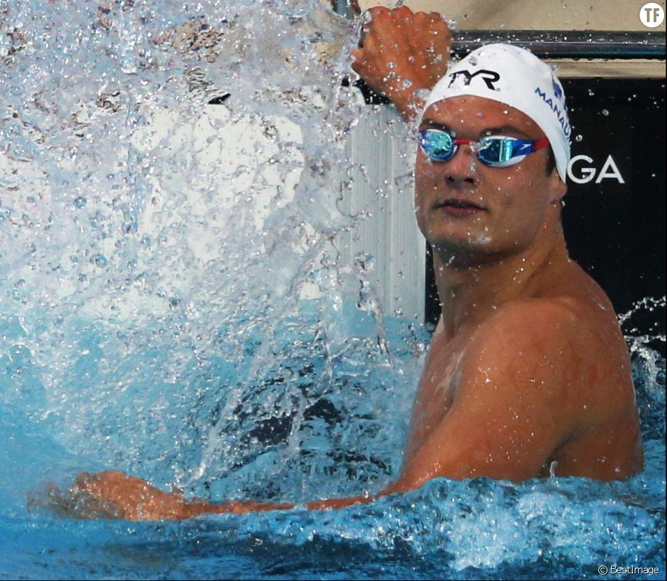 Le nageur Florent Manaudou