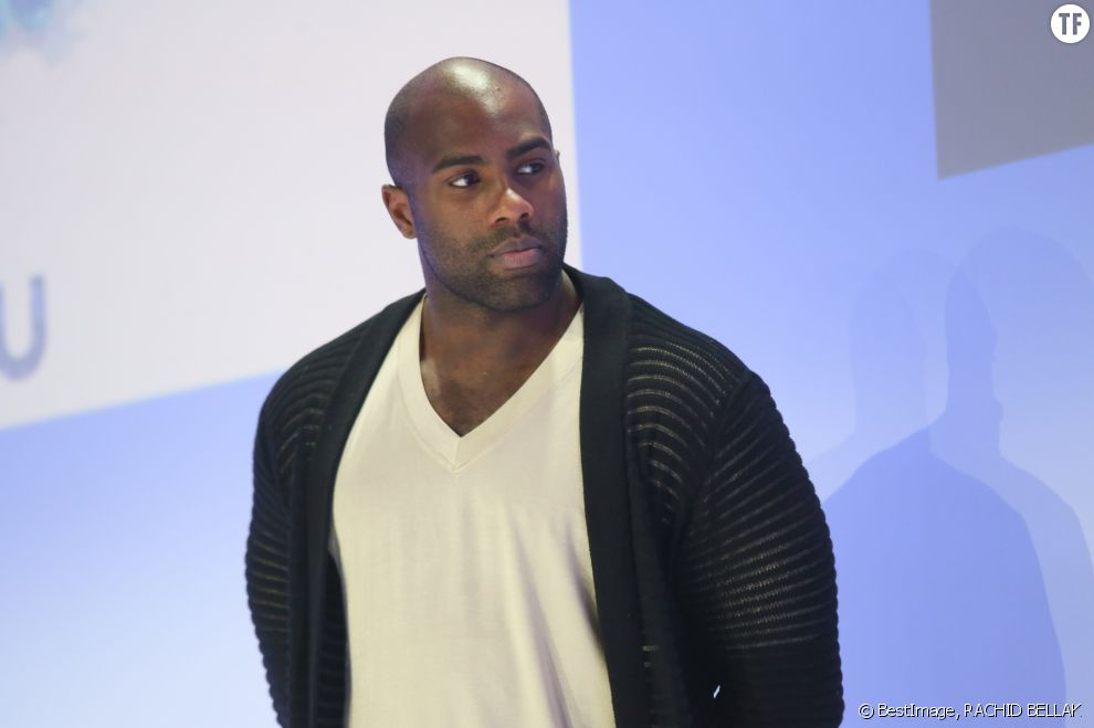 Teddy Riner et sa compagne Luthna Plocus