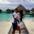 Le footballeur Jesé Rodriguez et sa compagne Aurah Ruiz