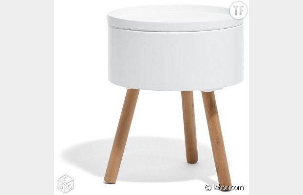 Leboncoin 6 id es de d co scandinave petits prix - Table de chevet scandinave ...