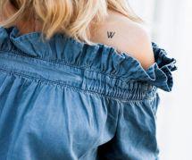 20 jolis petits tatouages secrets