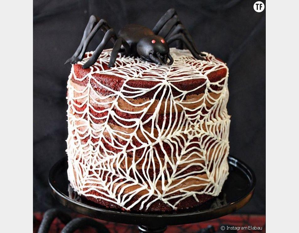 Recette Halloween 2016 : le gâteau toile d'araignée qui fait le buzz