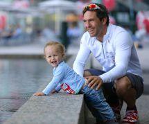 Marin et papa : le skipper Tanguy de Lamotte raconte son Vendée Globe
