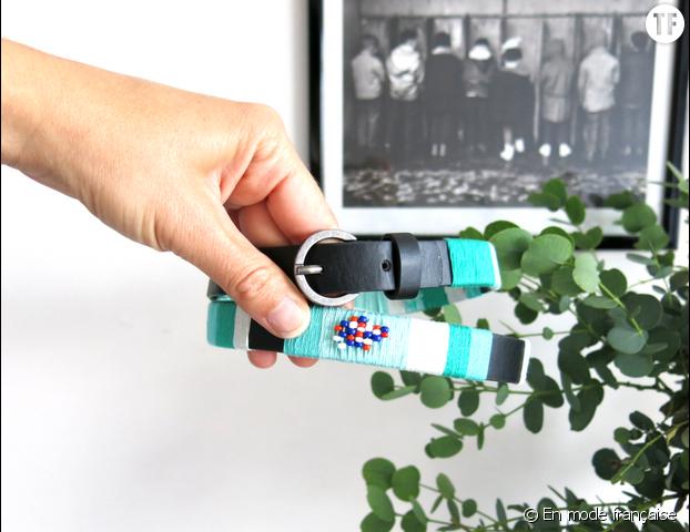DIY ceinture sur le blog En mode française