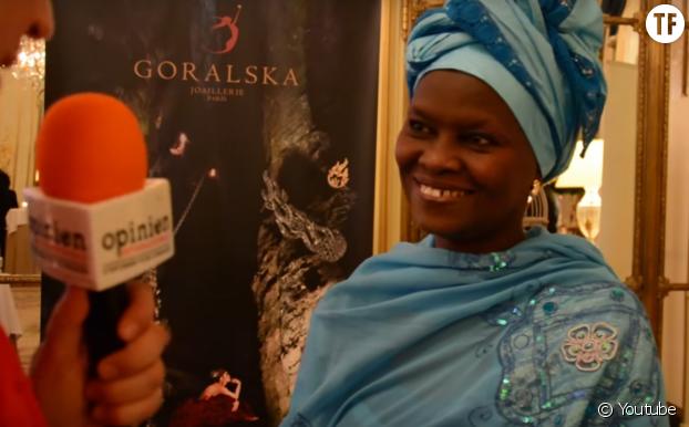 Fatimata M'Baye, avocate mauritanienne en faveur des droits de l'homme et lauréae du Prix Goralska 2016