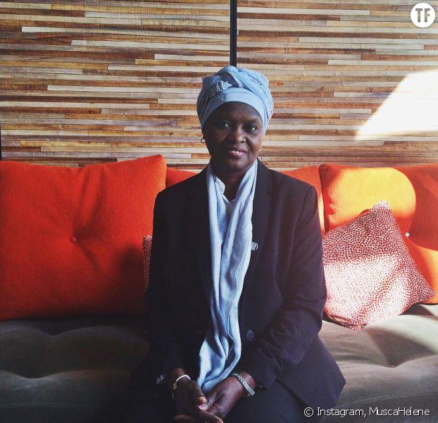 Fatimata M'Baye, avocate mauritanienne des droits de l'homme, à la résidence Goralska pour la remise du prix de la maison de joaillerie
