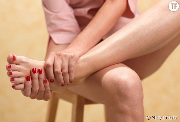 Les pieds : la voie rapide des substances actives